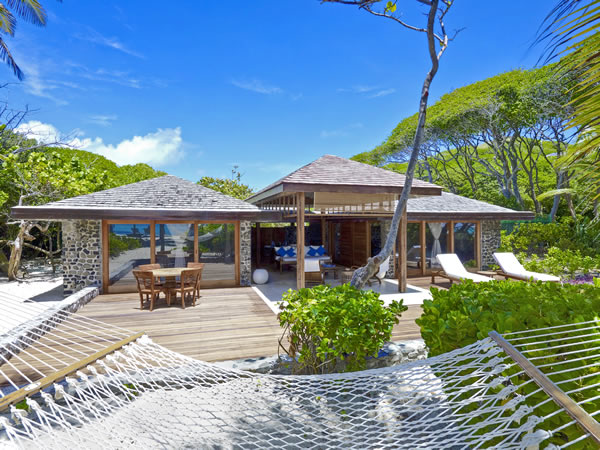 Enjoy beach luxury at Petit-St-Vincent, The Grenadine islands, Caribbean