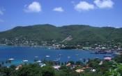 Bequia island view, Caribbean