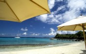 Cotton House Beach, Mustique, Caribbean islands