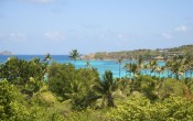 View from Cotton House Mustique Caribbean islands